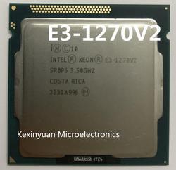 الأصلي إنتل زيون E3-1270V2 CPU E3-1270 V2 3.50GHz 8M LGA1155 E3 1270V2 سطح المكتب المعالج شحن مجاني E3 1270 v2