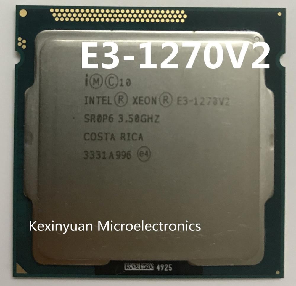 Original Intel Xeon E3-1270V2 CPU E3-1270 V2 3.50GHz 8M LGA1155 E3 1270V2 Desktop Processor Free shipping E3 1270 V2