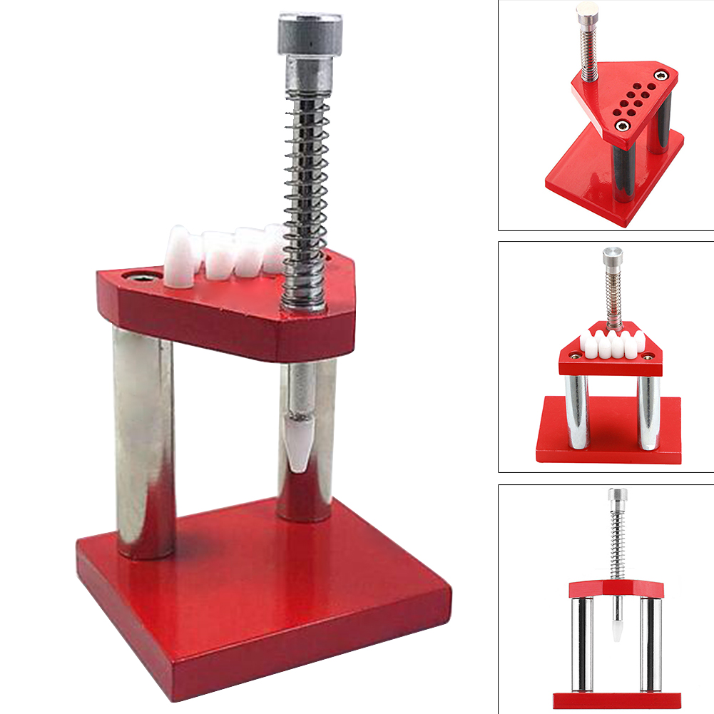 Portable Plunger Watchmaker Watch Hand Remover Metal Safe Accurate Presser Red Professional Parts Fitting Repair Tool Puller
