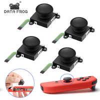 DATA FROG 3D palanca de mando analógica para interruptor Nintend alegría Con controlador reemplazo del Sensor accesorios módulo herramienta de reparación