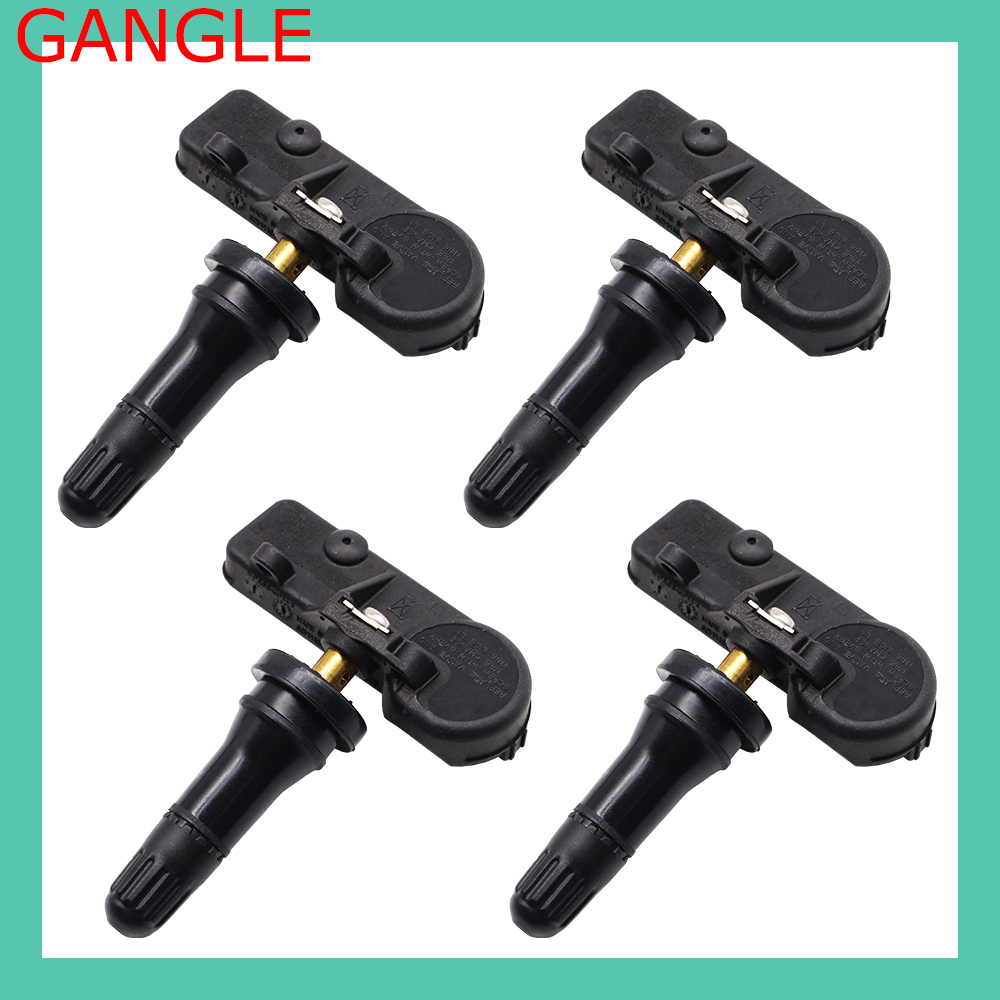 9L3T-1A180-AF SET 4 TPMS Sensor Tire Pressure Monitor System FOR FORD FOCUS MUSTANG ESCAPE F-150 LINCONLN MKC/MKT MERCURY MILAN