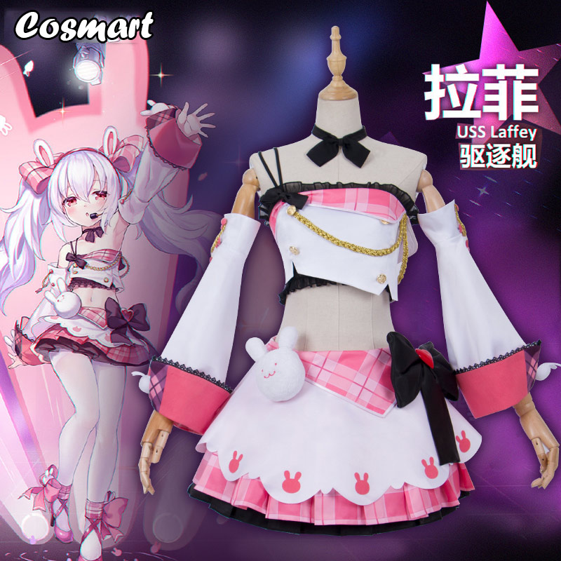 Anime  Azur Lane Collection Laffey Miad Costumes Christmas Cosplay Dress Outfit