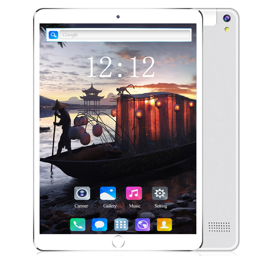 2020 YAHU New 10.1 Inch 3G/4G LTE Tablet PC Android 8.0 Octa Core 6GB RAM 128GB ROM 1280*800 IPS WIFI GPS Bluetooth 10 Tablets