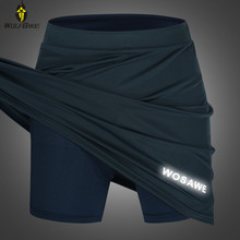 Underwear Clothing Skirt Gel-Padded Cycling-Shorts Tights Bike WOSAWE Women's MTB Base-Layer