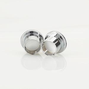 Image 2 - Hi End Brass Noise Stopper Rhodium Plated Copper RCA Plug Caps