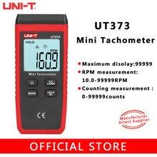 UNI-TUT373 não-contato de alta precisão tacômetro laser display digital do motor tacômetro rpm escala 10-99999rpm