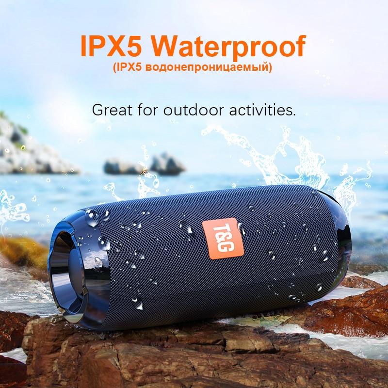 2021 Bluetooth Speaker Portable Outdoor Speakers Subwoofer Soundbar Waterproof Bluetooth Wireless Caixa De Som Sports
