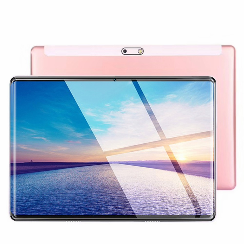 2020  New 2.5D IPS Tablet PC 4G Android 8.0 Octa Core Google Play Tablets 6GB RAM 128GB ROM WiFi GPS 10 Inch Tablet Steel Screen