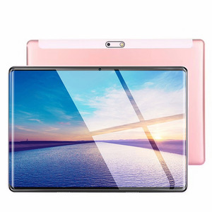2020 nowy 2.5D IPS Tablet PC 4G Android 8.0 Octa Core Google Play tablety 6GB RAM 128GB ROM WiFi GPS 10 Cal Tablet stalowy ekran