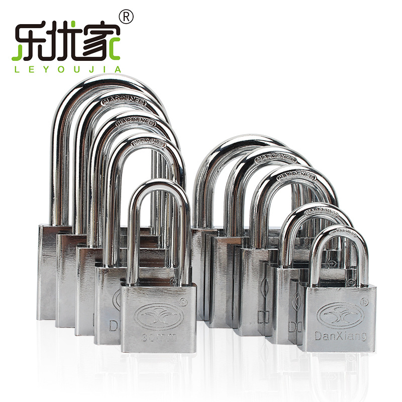 Le You La Casa Pujiang Padlock Manufacturers Wholesale Supply 30 Mm Leaf Iron Padlock Management Lock Through Open Lock Manufact