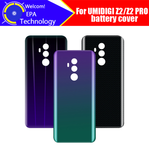 Image 1 - UMIDIGI Z2 Battery Cover 100% Original New Durable Back Case Mobile Phone Accessory for UMIDIGI Z2 PRO Cell Phone