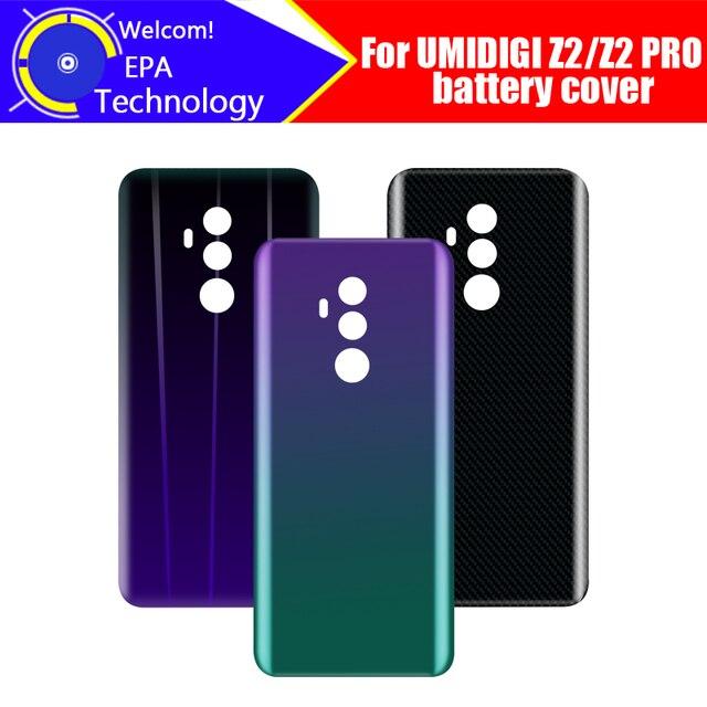 UMIDIGI Z2 Coperchio Della Batteria Originale di 100% Nuovo Durevole Posteriore di Caso Del Telefono Mobile Accessorio per UMIDIGI Z2 PRO Telefono Cellulare