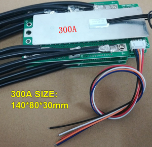 Image 2 - 4S 100A 200A 300A 3.2V LifePo4 Protection Board 12.8V Car Start Inverter BMS PCB 100% brand new and high quality