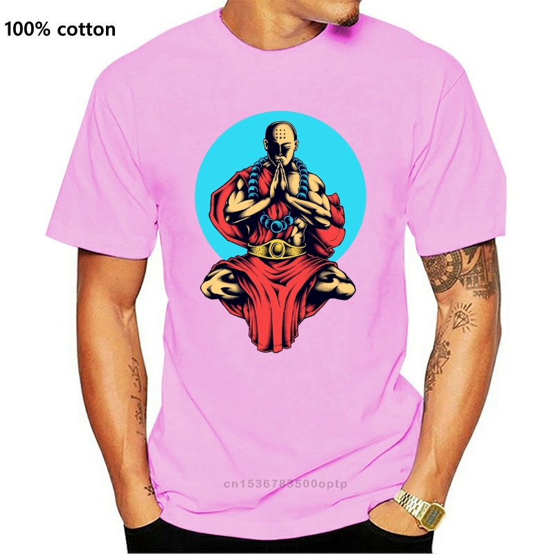 Душевное спокойствие Футболка Будда медитации Йога Мужская футболка S 3XL|Футболки| | АлиЭкспресс