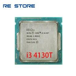 used Intel Core i3 4130T Dual-Core 2.9GHz LGA 1150 TDP 35W 3MB Cache CPU Processor