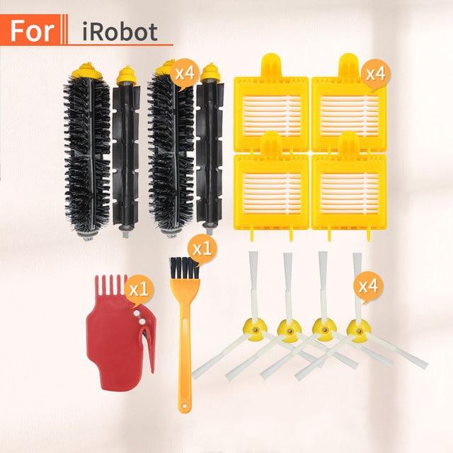 Zubehör für IRobot Roomba 700 Serie Ersatz Filter 772, 770, 780, 790, 782, 785, 786 Roboter Staubsauger Teile