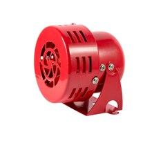 """12V """" автомобильный воздушный налет сирены Рог автомобиль грузовик двигатель приводом сигнализация красный"""