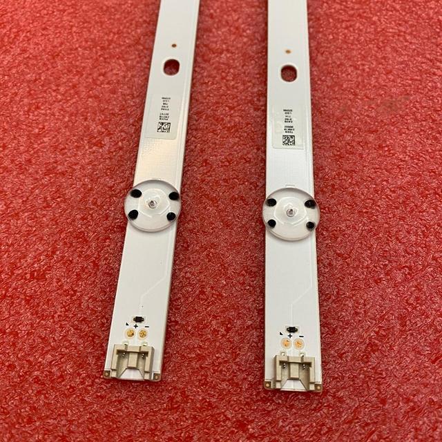 2pcs רצועת תאורת LED האחורית עבור LG 32LH519U 32LH51HD 32LH590U 32LH510B 32LF510U 32LF510B 32LH516A 32LH517A 32LH518A 32LH51_HD S