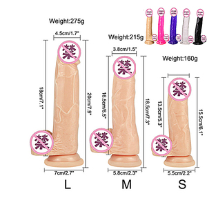 Dildo Realistic Gode Enorme Female Toys 7/8 inch Huge Penis Suction Cup Male Dick Erotic Toys for Adult Sex Toys for Woman