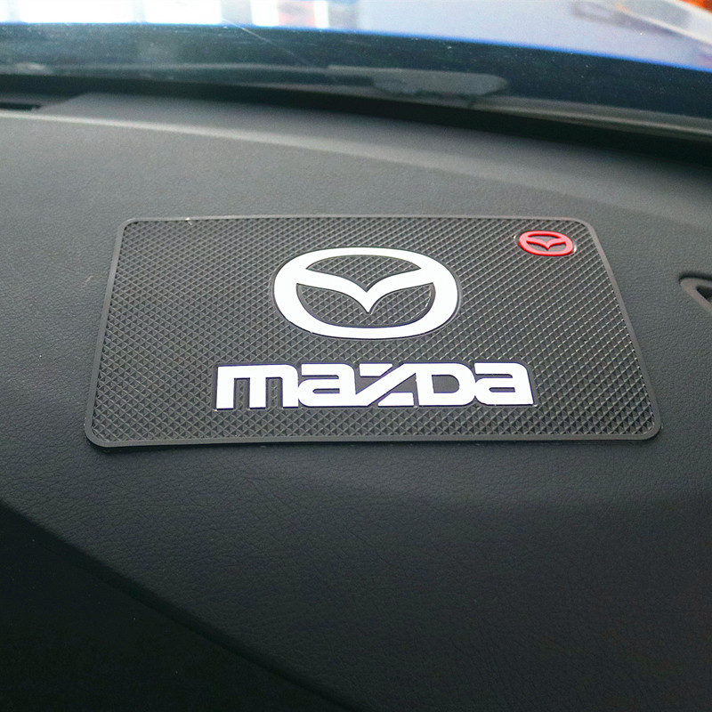 CAR Auto Emblem Car Mat For Mazda 2 Mazda 3 MS For Mazda 6 CX-5 CX5 Car-Styling Badge Accessories 1pcs