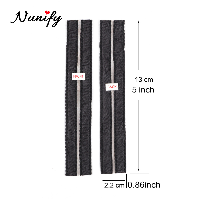 Nunify Black Nylon Highest Elastic Bands For Wigs Making Wig Caps Hair Net Lace Net Cloure Touppe Making Tools New Collection
