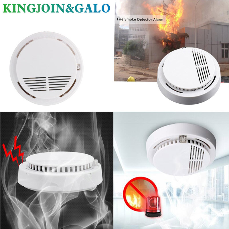 Image 5 - 85 dB Voice Fire Smoke Sensor Detector Alarm Tester Home Security System   Kitchen/Restaurant/Hotel/Cafe-in Smoke Detector from Security & Protection