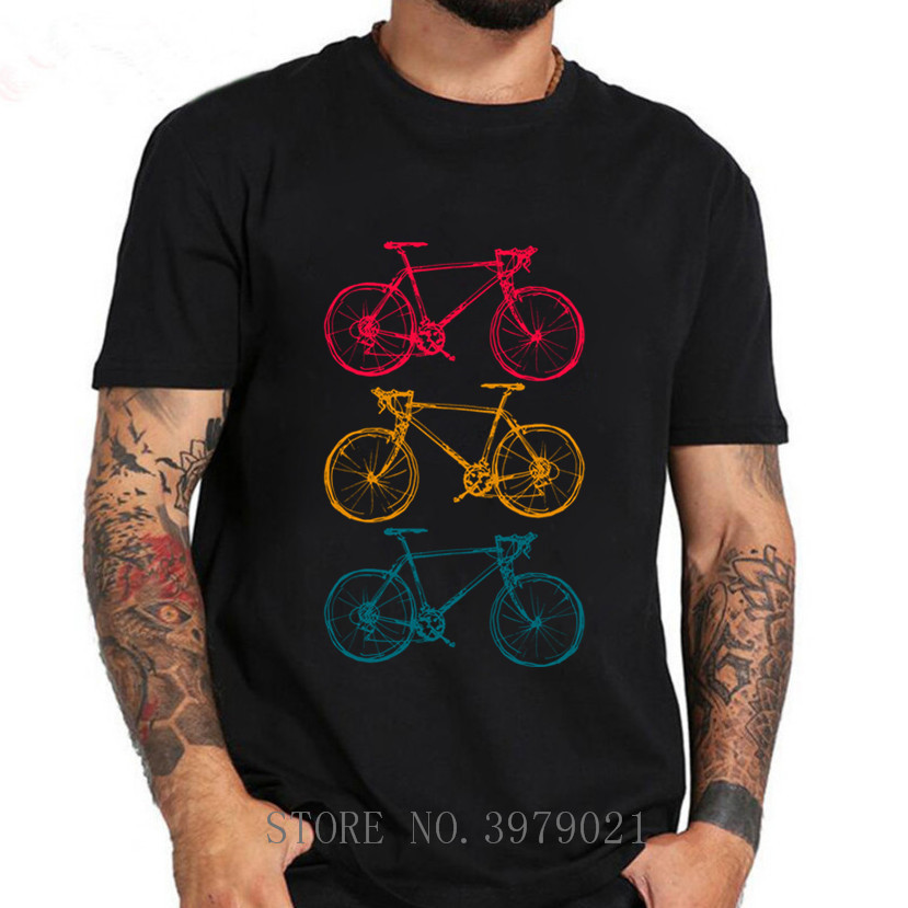 T-Shirt 3 Bicycle colors Bike T-Shirt