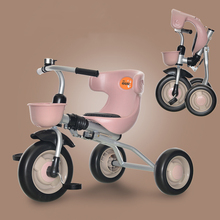 Baby Bicycle Foldable Children's Tricycle 1-3 Years Old Baby Bicycle Stroller Toddler Tricycle  Kids Bike  3 Wheel Bicycle