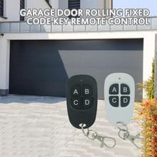 433mhz 4 chaves cópia de controle remoto universal clonagem duplicador chave portão elétrico controle remoto porta da garagem controle remoto