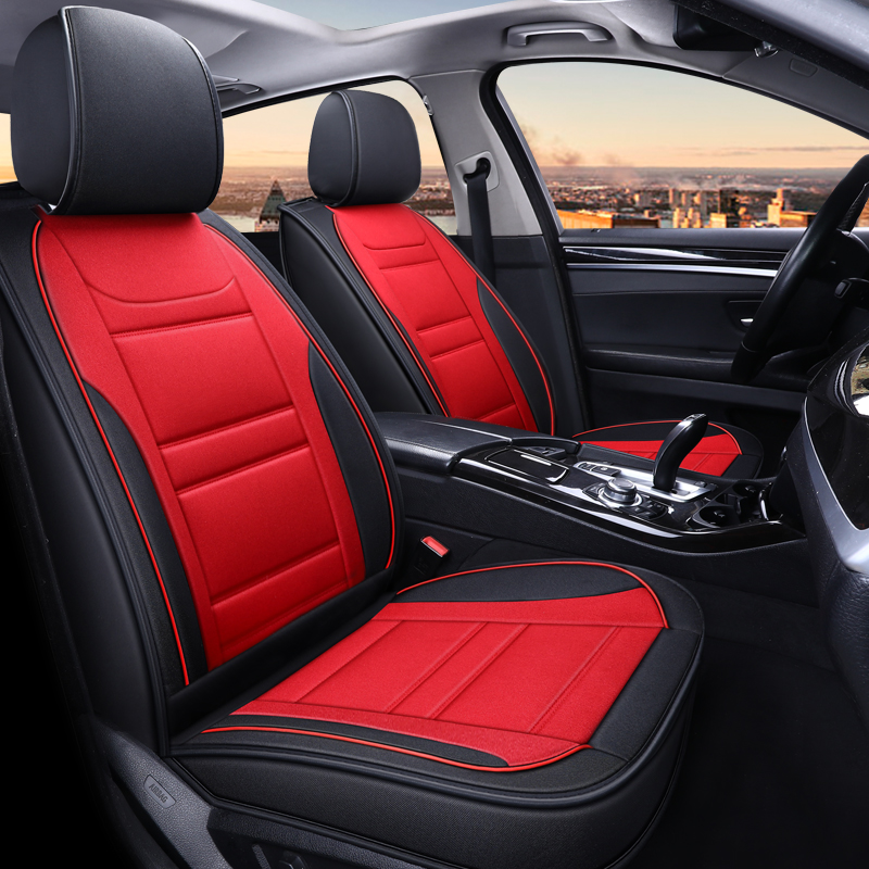Full Coverage flax fiber car seat cover auto seats covers for mercedes benz m class <font><b>ml</b></font> <font><b>350</b></font> ml320 w163 <font><b>w164</b></font> w166 gle gle43 gle63 image