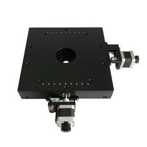 Deslizador XY de etapa lineal motorizado PT-XY15T PDV