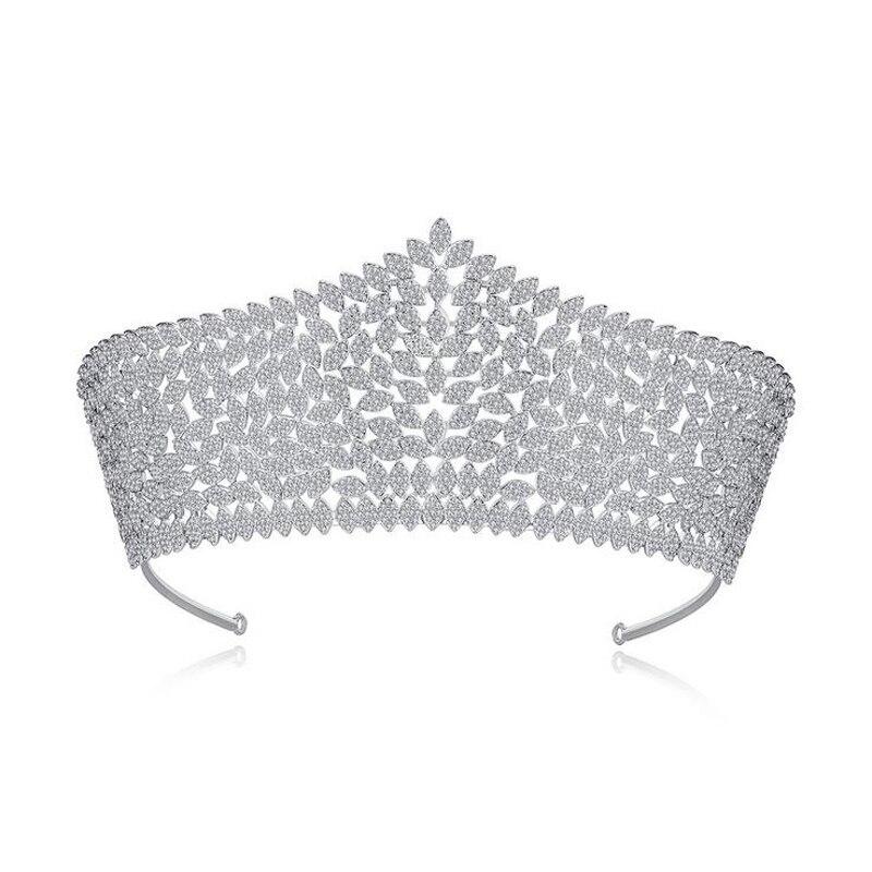 Хрустальные стразы, свадебная корона тиара, диадема, Королевская корона, головной убор, аксессуары для волос, женский свадебный головной уб...