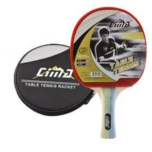 Cima ракетка для настольного тенниса с сумкой начинающих дрожания