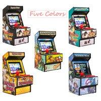 Mini juego Arcade portátil para niños y adultos, 156 juegos clásicos de mano, pantalla colorida con protección ocular de 2,8 pulgadas y batería recargable