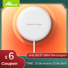 Magsafe Wireless Charging iphone 12 With Magnetic Qi Wireless Charger Fast 15W For Samsung