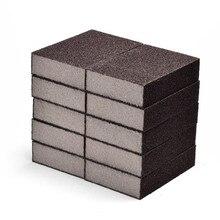 1/5 pçs 100*70*25mm esponja de limpeza carborindo esponja mágica para cozinha escritório banheiro limpo acessório ferramenta limpeza 7z