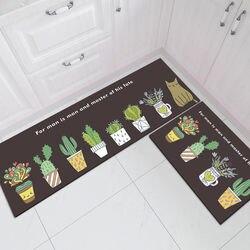 Tapis de cuisine de mode pour plancher anti-dérapant bain entrée paillasson Tapete tapis absorbants salon chambre enfants tapis de prière