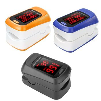 Finger Pulse Oximeter Oxygen Saturation Monitor Heart Rate Blood Oxygen O2 Meter