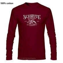 Schrute çiftlikleri t shirt kağıt Co Inc Scranton PA ofis Dwight erkek yetişkin abd