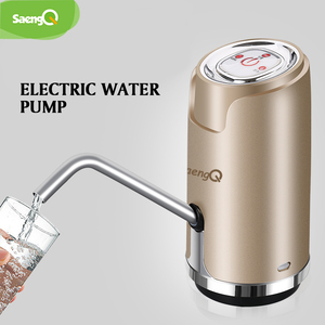 saengQ Electric Water Dispenser Portable Gallon Drinking Bottle Switch Smart Wireless Water Pump Water Treatment Appliances