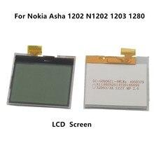 ESC 200 unids/lote para Nokia Asha 1202 N1202 1203 Monitor de pantalla LCD para Nokia Asha 1202 N1202 1203 1280 pantalla LCD