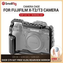 Fujifilm X T3 X T3 및 X T2 카메라 용 SmallRig DSLR 카메라 케이지 Nato 레일 핸들 그립 fujifilm xt3 Cage 2228