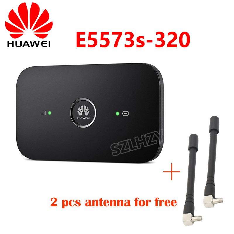 Unlocked HUAWEI 4G 150mbps WIFI E5573s-320/E5573bs-320 Vodafone R216 MF920VS R216-Z 4G Mobile Hotspot Pocket Router +2 Antennas