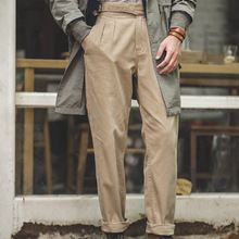 WW2 American Gurga Army Pants Straight High Waist Trousers Men Military Trousers Male Trousers