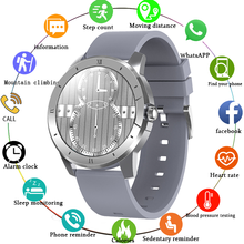 LIGE 2021New Smart Watch Men Luxury Music Playback Bluetooth Call Heart rate Waterproof Sport Fitness Smartwatch Man Android iOS