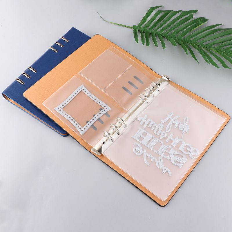 DIY Cutting Dies Display Collection Storage Stencil Book Sheet Cover Without Inner Pages Photo Album Scrapbooking Decors   LX9A