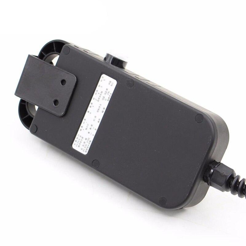 Heißer Verkauf Universal Cnc 4 Achsen Mpg Anhänger Hand Rad 100 Puls 5V & Notfall Stop Cnc Router Handrad 4 achsen Typ - 4