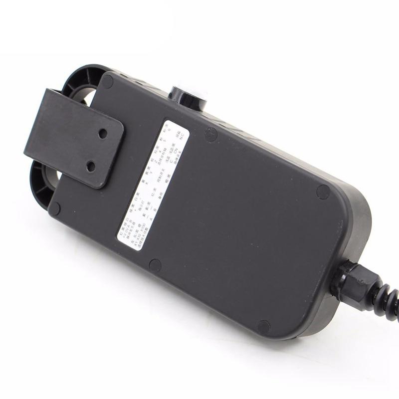 Hot Koop Universele Cnc 4 Axis Mpg Hanger Handwiel 100 Puls 5V & Noodstop Cnc Router Handwiel 4 Axis Type - 4