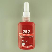 50 мл анти-осыпание кремниевой смолы хорошая производительность жидкость свободная фиксированная предотвращает шок безопасный Винт клей 4 вида окружающей среды клей