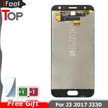 100% Getest Lcd Touch Screen Digitizer Reparatie Voor Samsung Galaxy J3 2017 J330 J3 Pro J330F J330G Super AMOLED(China)